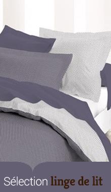 Linge de lit : housse de couette