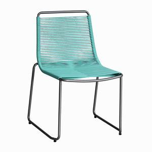 Chaise Gaston - Turquoise