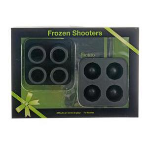 Coffret Ice shooters - Noir - silicone