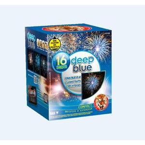 Feu d'artifice Deep Blue