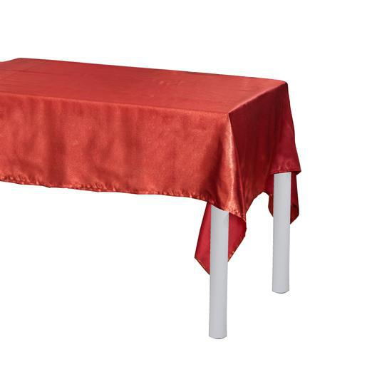 Nappe - Polyester - 145 x 250 cm - Rouge