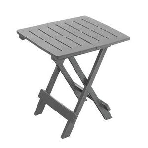 Table d'appoint Adiko - 44 x 44 x H 50 cm - Gris