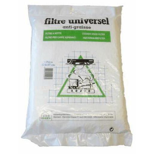 Filtre Hotte Hotte Universel   114 X 47 Cm   Fibre Synthétique   Blanc