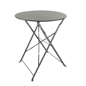 Table Diana pliable - 60 x 60 x H 71 cm -gris