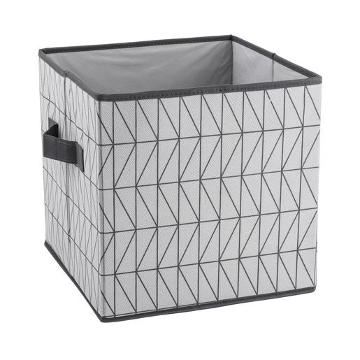 Cube De Rangement Blanc Bleu Gris Je M Installe A Petit Prix La Foir Fouille