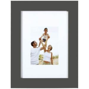 Porte-photo Optimo - 22 x 17 cm - MDF - Marron