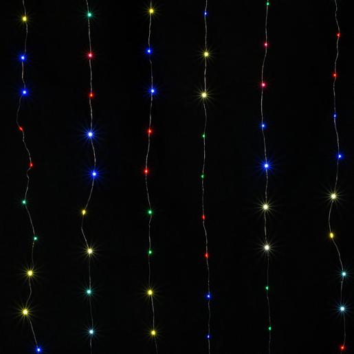 Guirlande électrique Rideau Multicolore Guirlandes Lumineuses