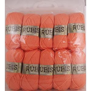 10 pelotes - 100% acrylique - 50 g - Orange