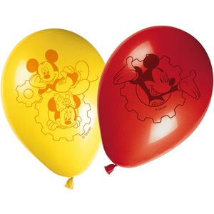 Lot de 8 ballons Mickey playful en papier - 30 cm - Multicolore