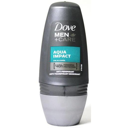 Déodorant roll-on parfum aqua impact - 50 ml - Gris