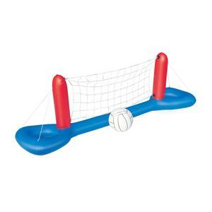 Filet de volley gonflable avec balle