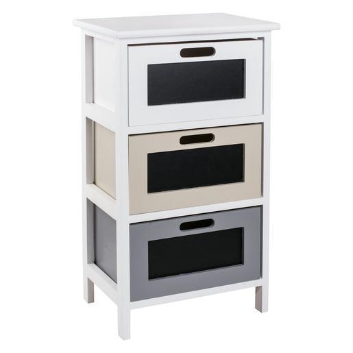 meuble de rangement 3 tiroirs ardoise