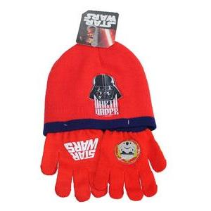 Bonnet + gants Star Wars - 51 cm - Rouge