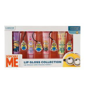 Set de 4 gloss Minions - Plastique - Multicolore