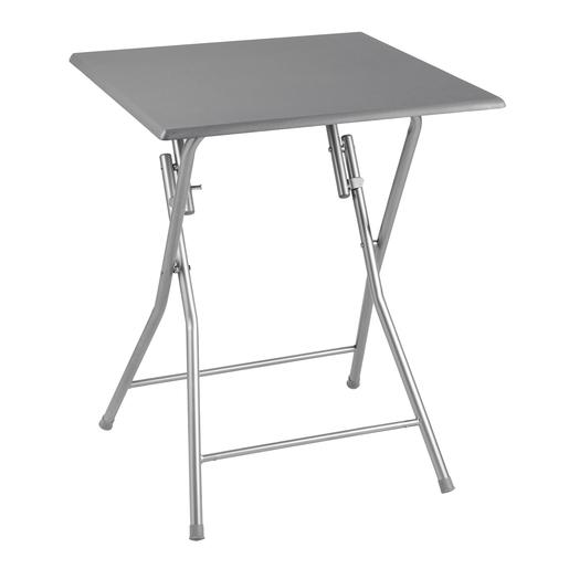 Table Pliable Gris Meubles De Salon La Foir Fouille