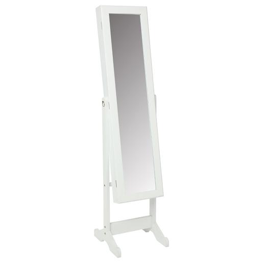 Miroir psyché range-bijoux - 36,5 x 34.5 x H 145 cm - Miroirs | La ...