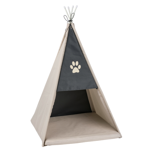 tipi pour chat 37 x 37 x h 52 cm jeux et quipements. Black Bedroom Furniture Sets. Home Design Ideas