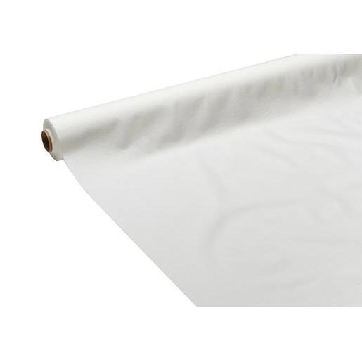nappe - intissé - blanc - vaisselle jetable | la foir'fouille