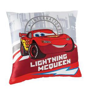 Coussin Cars - 100 % polyester - 40 x 40 cm - Multicolore