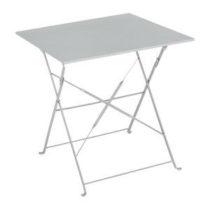 Table Diana carrée - 70 x 70 x H 71 cm - Gris
