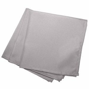 2 serviettes de table Punchy - L 40 x l 40 cm - Marron