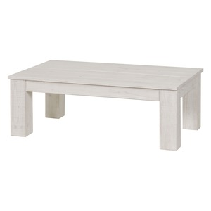 Table basse Trouville - 100 x 60 x H 35 cm - blanc