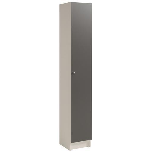 colonne gris blanc - meubles salle de bain | la foir'fouille