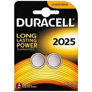 2 piles Duracell SPE 2025