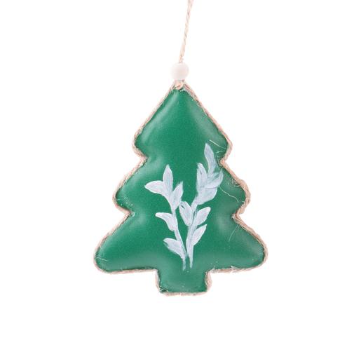 Suspension Sapin Vert Marron Decoration De Sapin De Noel La Foir