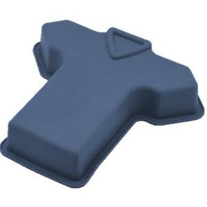 Moule maillot - Silicone - 242 x 230 x H 40 mm - Bleu