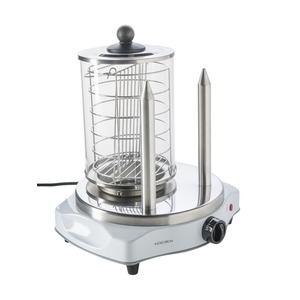 Appareil à Hot Dog - 230 V - 450 W - Blanc, Gris inox