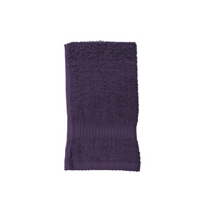 Serviette de toilette - 30 x 50 cm - violet deep purple