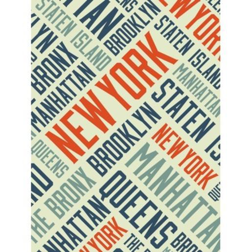 Chassis toile New York - 60 x 80 cm - Chassis Pin - Toile - Multicolore