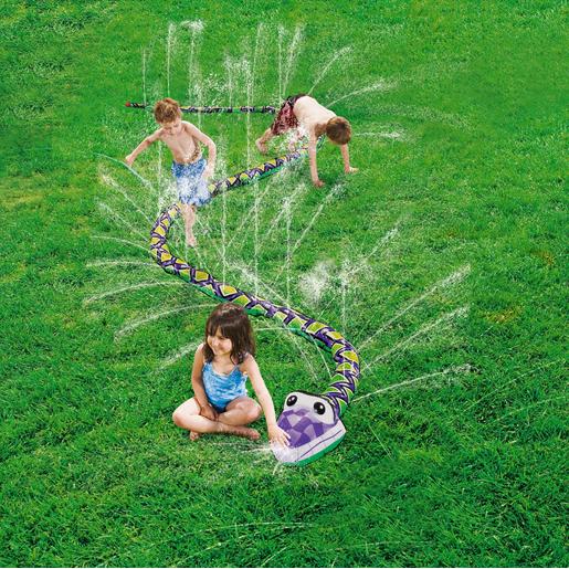 Serpent Avec Jets Deau Multicolore Jeux Dextérieur Pour Enfant