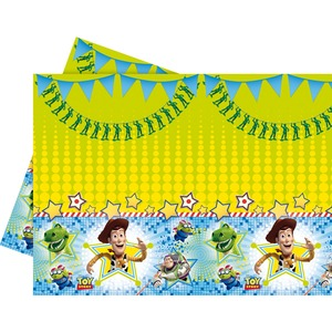 Nappe Toy Story SP en plastique - 120 x 180 cm - Multicolore