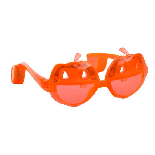 Lunettes orange Accessoires costumes Halloween | La Foir