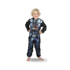 edd9c551ae10 Combinaison Star Wars Dark Vador- Micro polaire - 6 à 9 ans - Noir