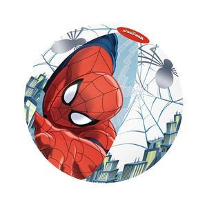 Ballon de plage Spiderman - diamètre 51 cm - rouge et bleu