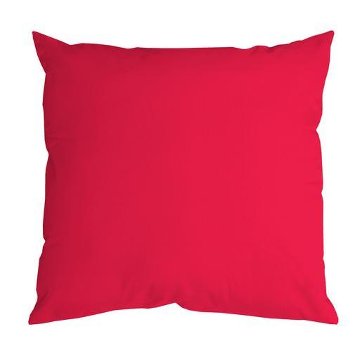 Coussin Nelson - 100 % Polyester - 40 x 40 cm - Rouge
