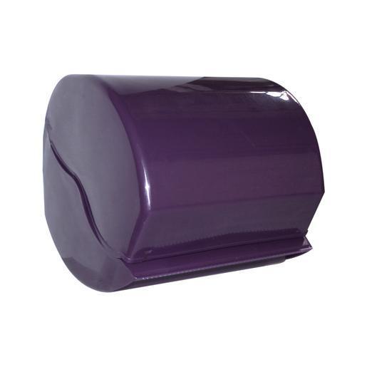 D rouleur de papier wc en plastique violet aubergine - Abattant wc foir fouille ...