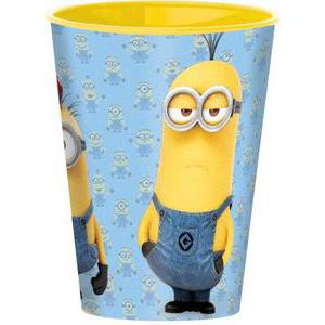 Gobelet Minions - Plastique - 260 ml - Multicolore