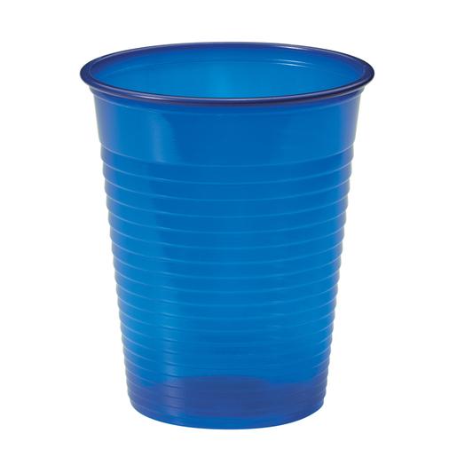 Lot de 25 gobelets plastique - Bleu marine - Gobelet ...