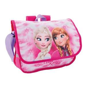 Cartable Frozen - Polyester - 32 x 10 x H 23 cm - Multicolore