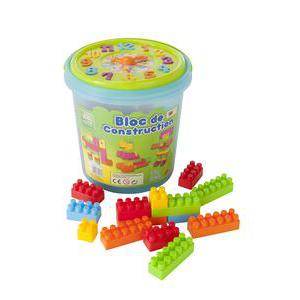 72 blocs de construction - Plastique - Multicolore