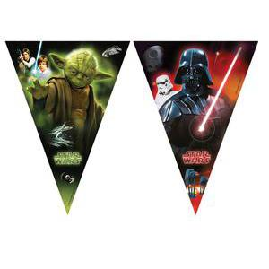 Guirlande Star Wars - Plastique - 2,3 m - Multicolore