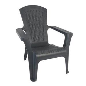 Fauteuil Adiko - Gris anthracite