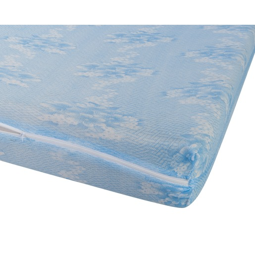Protège Matelas Intégral   160 X 200 Cm   Bleu