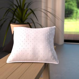 Coussin palermo - 40 x 40 cm - 70% Polyester/30% Coton - Blanc