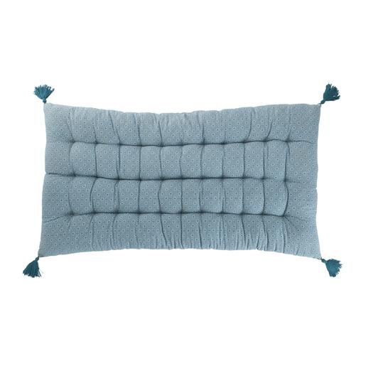 Long coussin de sol - 60 x 120 cm - Bleu