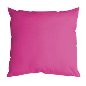 Coussin Nelson - 100 % Polyester - 60 x 60 cm - Fuchsia